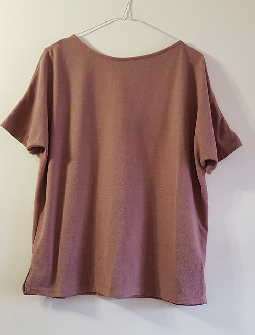 ATMOSPHERE Dusky pink top. Size 8