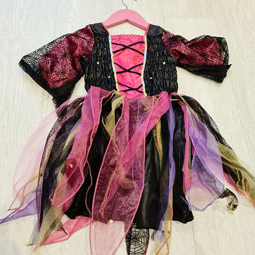 🍁ELC witches dress 3-5yrs