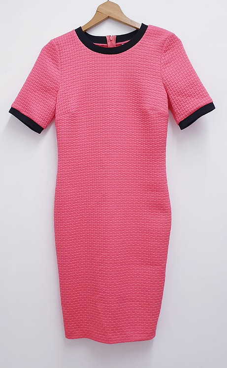 Limited Edition coral pink dress. Uk 8