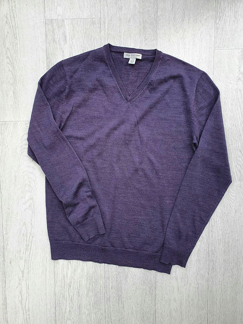 🌕Cedar Wood State purple v-neck sweater. Size S