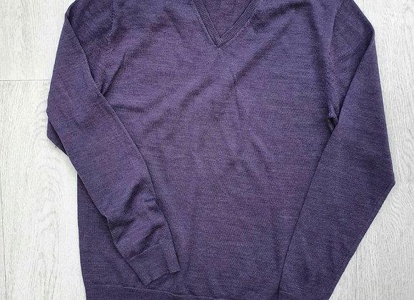 🌕Cedar Wood State purple v-neck sweater. Size S