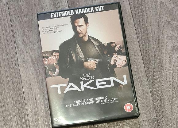 DVD - Taken rating 18