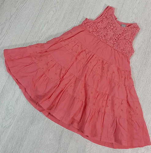 Tu Coral summer dress 2-3yrs