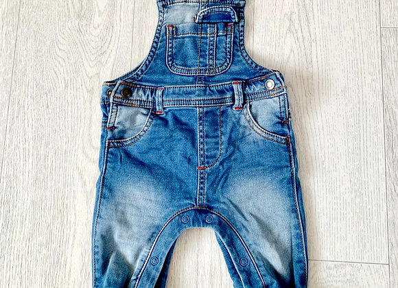 🌗Bhs dungarees. 3-6m