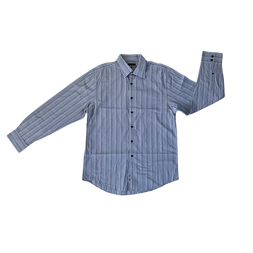 Austin Reed blue mix shirt. Size L