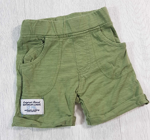 ◾Baby green soft shorts. 0-3months