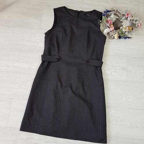 Next grey mix dress. Size 12