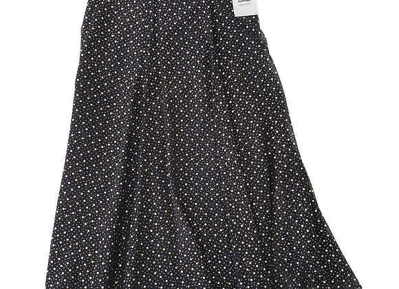Craigmere silver spotty vintage skirt. Uk 14 NWT