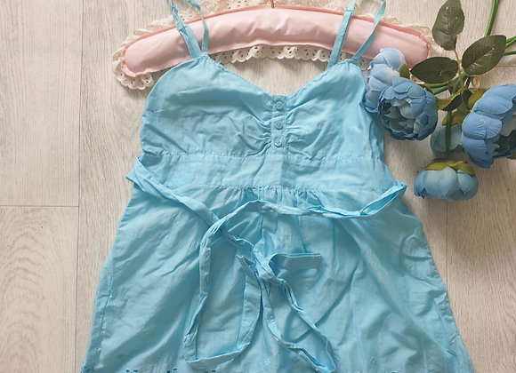 🧡Divided by H&M turquoise summer top. Size Euro 36