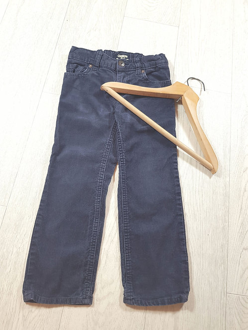 🌈Oshkosh boys navy soft feel trousers size 4 years