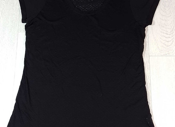 ◾Atmosphere black textured t-shirt. Size 14