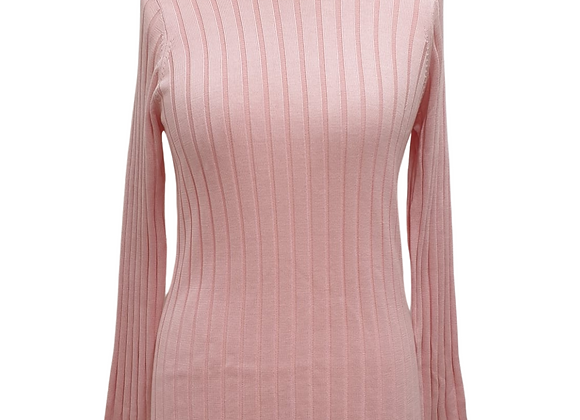 Betty Barclay pink knit sweater. Size XL