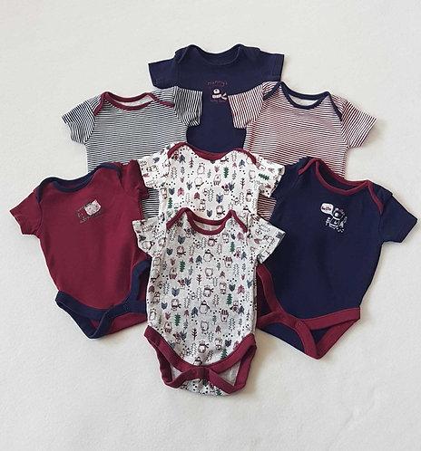◾George 7 piece set of vests. Newborn