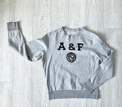 Abercrombie & Fitch grey distressed hem muscle sweatshirt. XXL
