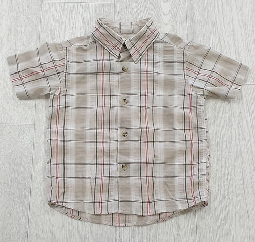Mothercare Beige shirt. 2-3yrs