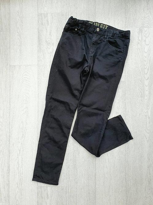 🌕Denim Co slim fit black jeans with adjustable waist.  13-14yrs