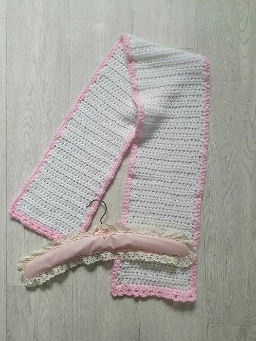 Child's handmade scarf