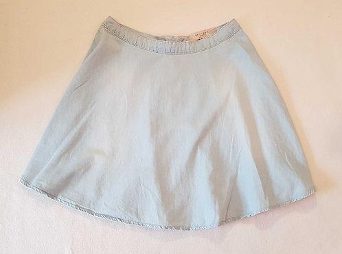 NEW LOOK Denim look skirt. Size 8
