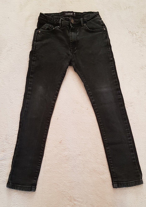 FIRETRAP Black jeans age 9-10yrs KEEP AWAY FROM FIRE