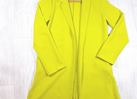 🔷️Cameo Rose lime green jacket size 10