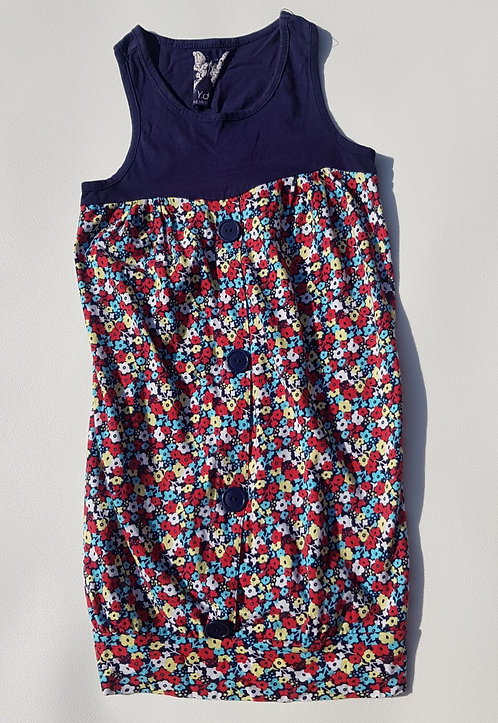 Young Dimension floral dress. 7-8yrs