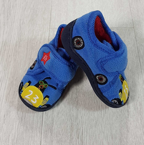 Next velcro slippers with hard soles Infant size 5