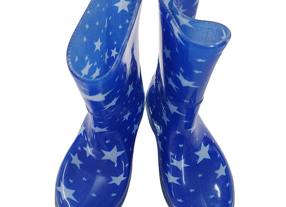 Blue star wellies. Uk infant size 8