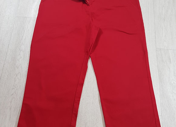 🚩Evie collection cherry red three-quarter length trousers size 14