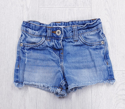 Blue Zoo distressed denim shorts. 4yrs