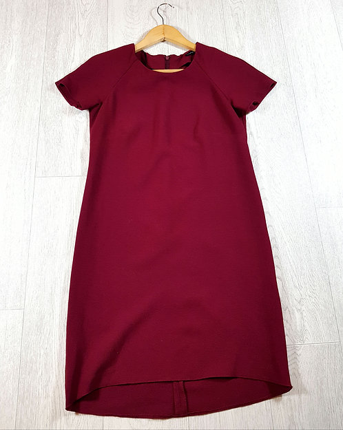✴Atmosphere burgundy zip up dress size 8