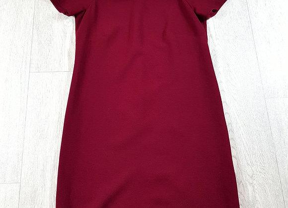 ✴Atmosphere burgundy zip up dress size 8