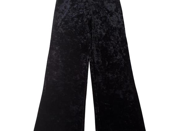 Boux Avenue black velvet trousers. Uk 10