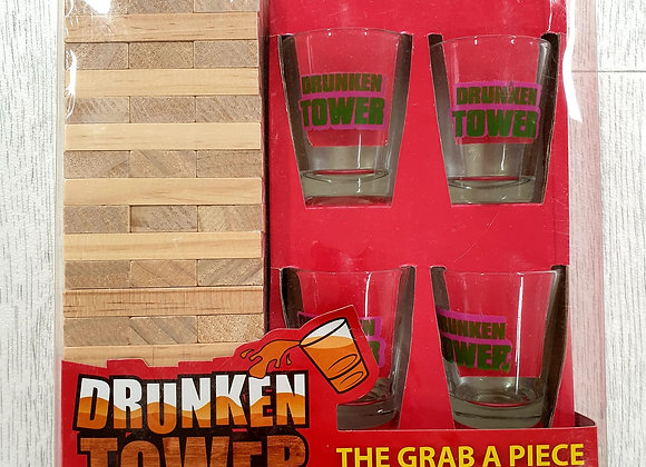 Drunken Tower drinking game.