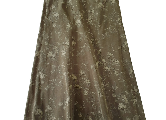 Cotswold Collections soft chord green mix skirt. Uk 16