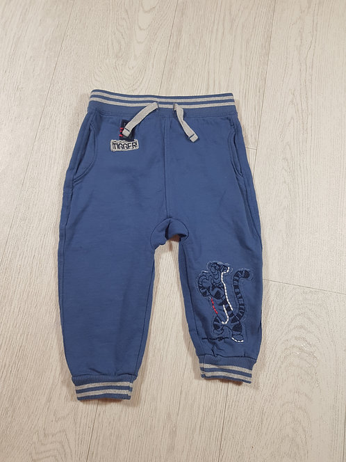 🐠George boys blue Tigger joggers size 12-18 months