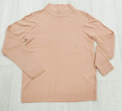 Damart peach knit sweater. Uk 10-12