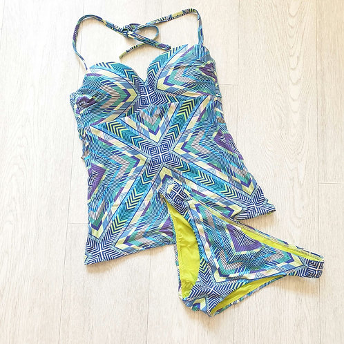 💚Next tankini 32A top and size 10bottoms