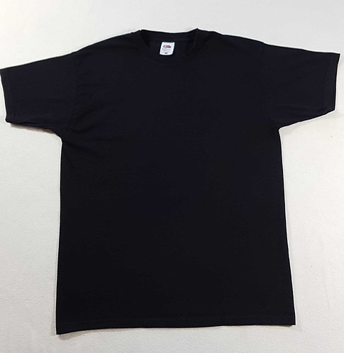 ◾Mens Fruit of The Loom black T-shirt. Size M