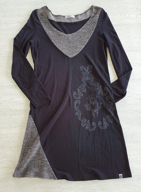 Black stretch fit dress