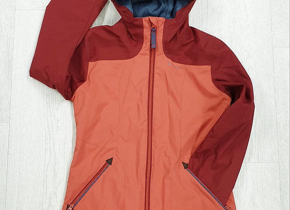 🏴Decathlon orange rain coat. 8yrs