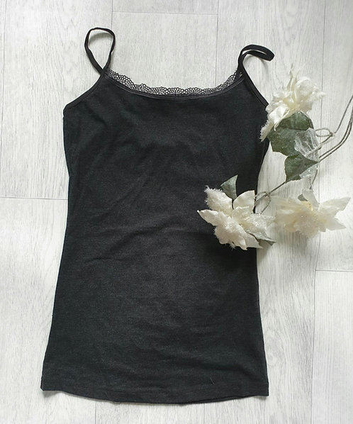 Secret possessions grey vest top. XS