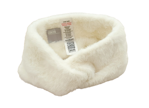 Asos ivory winter head band. One size