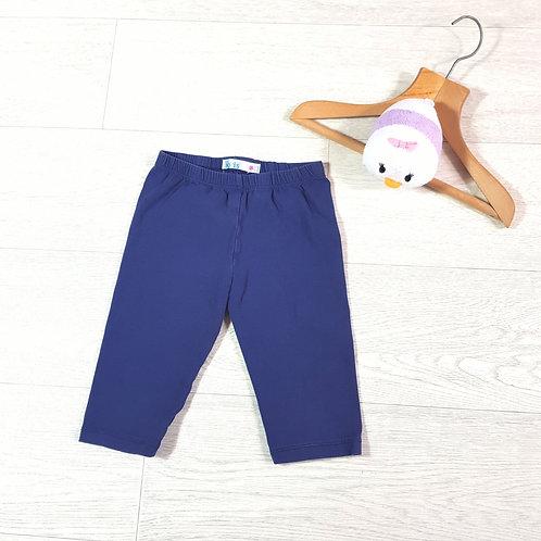 M&Co blue shorts 5-6yrs