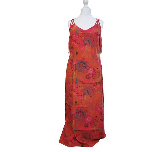 Apriori long red dress. Uk 18 / Eu 44