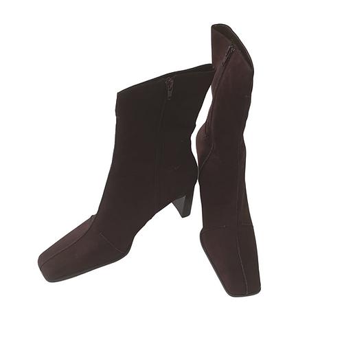 Blox brown Santiago boots. Uk 9 NWT