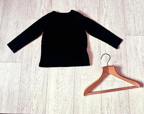 ♦️H&M black long sleeve top. 2-4yrs