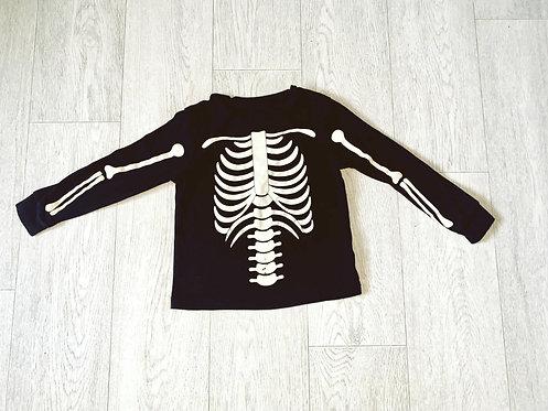 ♦️George skeleton top. 4-5yrs