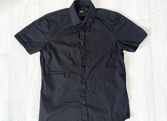 Asos black short sleeved shirt. Size M