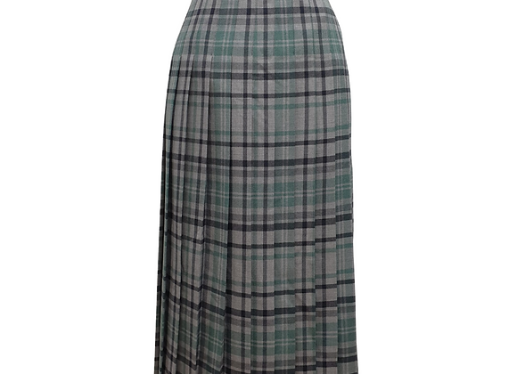 Cotswold Collections pleated wool long vintage skirt. Uk 18