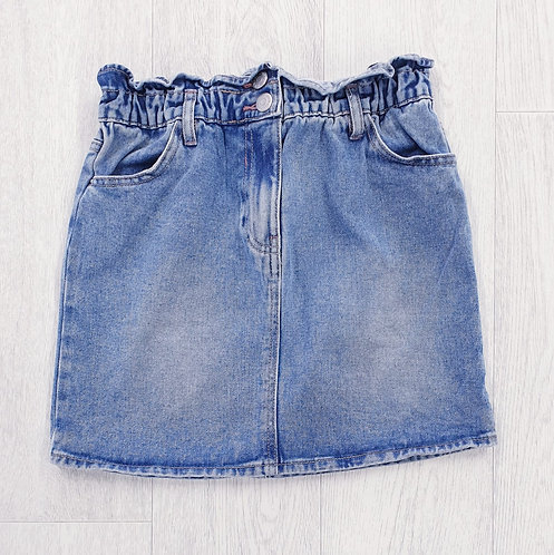 Candy Couture denim skirt. 12yrs